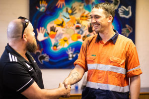 employment success with mentor and participant